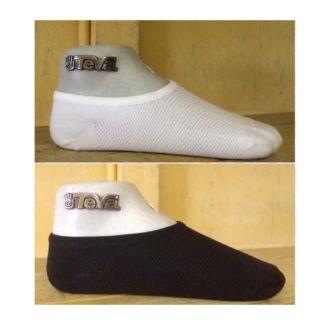 lage sneakersokken sokken niet afzakken zwart en wit Vermeulen Modeschoenen Dongen