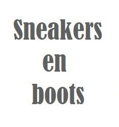 Sneakers en boots