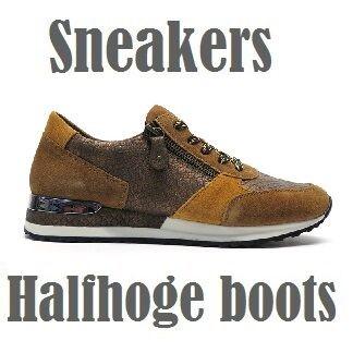 Sneakers en halfhoge boots