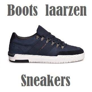 Boots, laarzen en sneakers